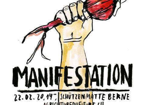 Manifestation «L'alimentation est politique!» 22 février à Berne