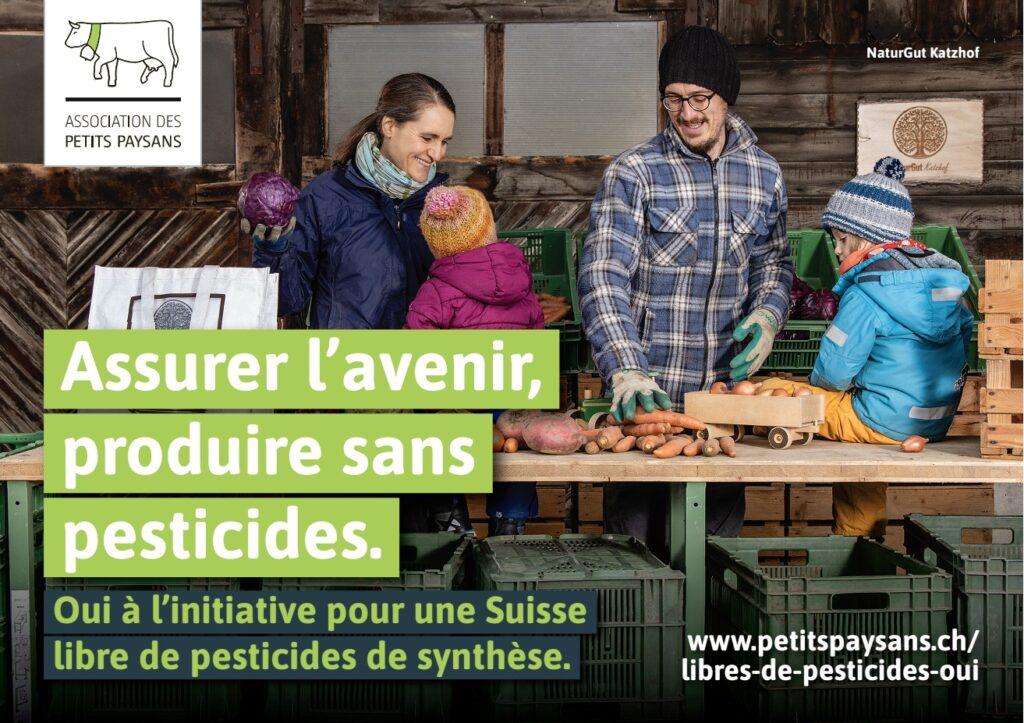 Assurer l'avenir, produire sans pesticides